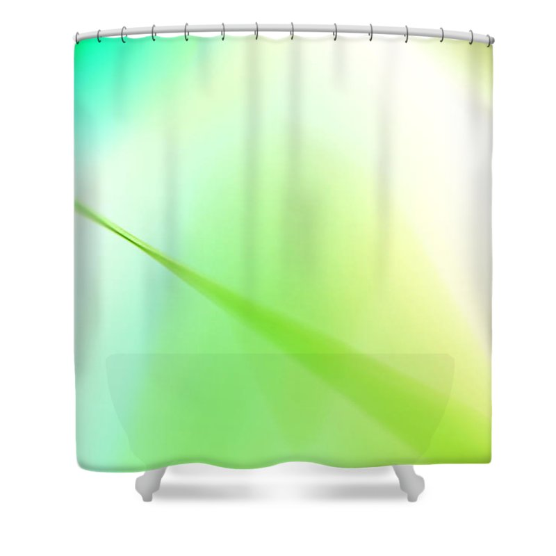 Abstract Shower Curtain featuring the photograph Don't Fade Away by Dazzle Zazz