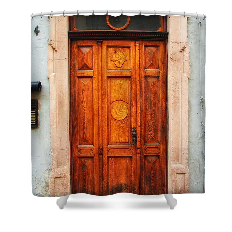 Door Shower Curtain featuring the photograph Doors Of Europe by Mountain Dreams