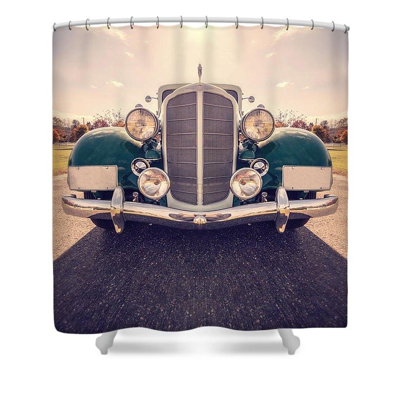 Super Car Shower Curtains
