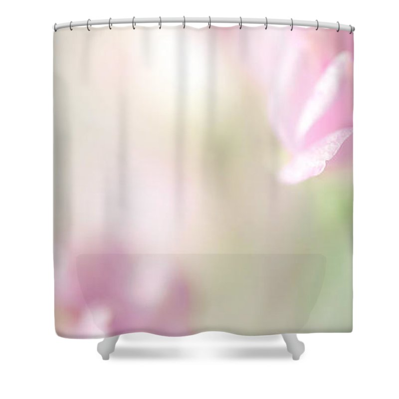 Flower Shower Curtain featuring the photograph Dream With Me IIi by Jenny Rainbow