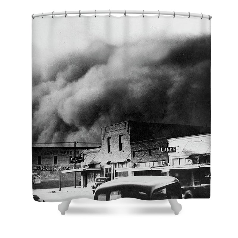 1934 Shower Curtain featuring the photograph Drought, 1934 by Granger