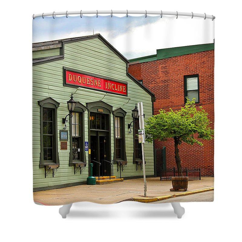 Duquesne Incline Shower Curtain featuring the photograph Duquesne Incline 3 by Rachel Cohen
