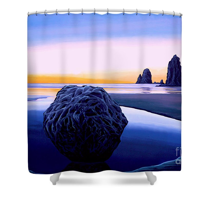 Morning Mist Shower Curtains