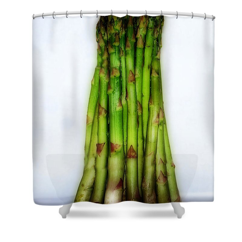 Scenic Tours Shower Curtain featuring the photograph Eat Your Vegetables by Skip Willits
