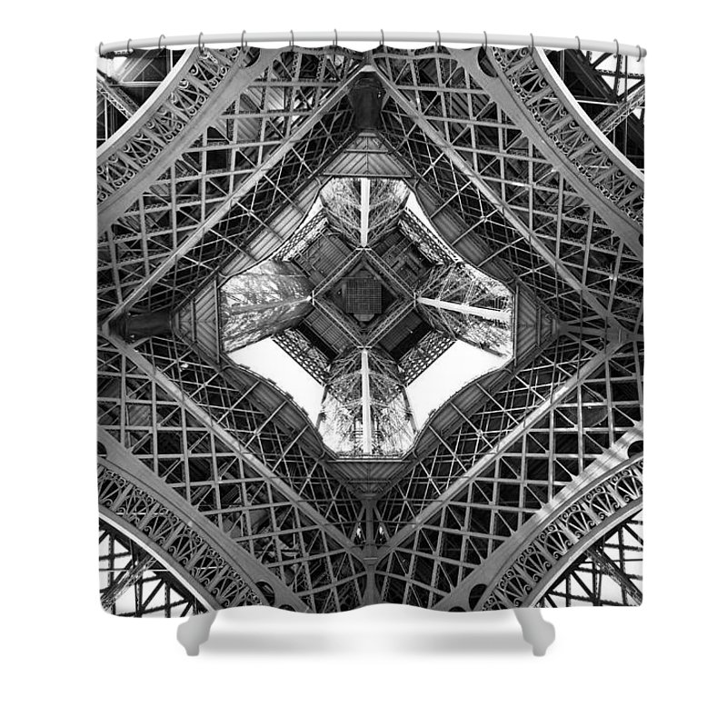 Parisian Photographs Shower Curtains
