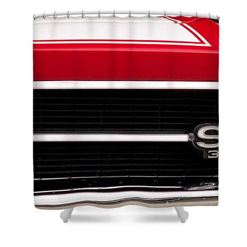 1969 Shower Curtain featuring the photograph El Camino 07 by Rick Piper Photography