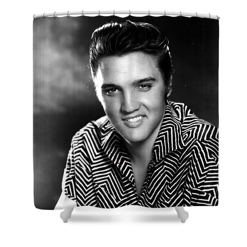 Elvis Presley Shower Curtain For Sale By Georgia Fowler