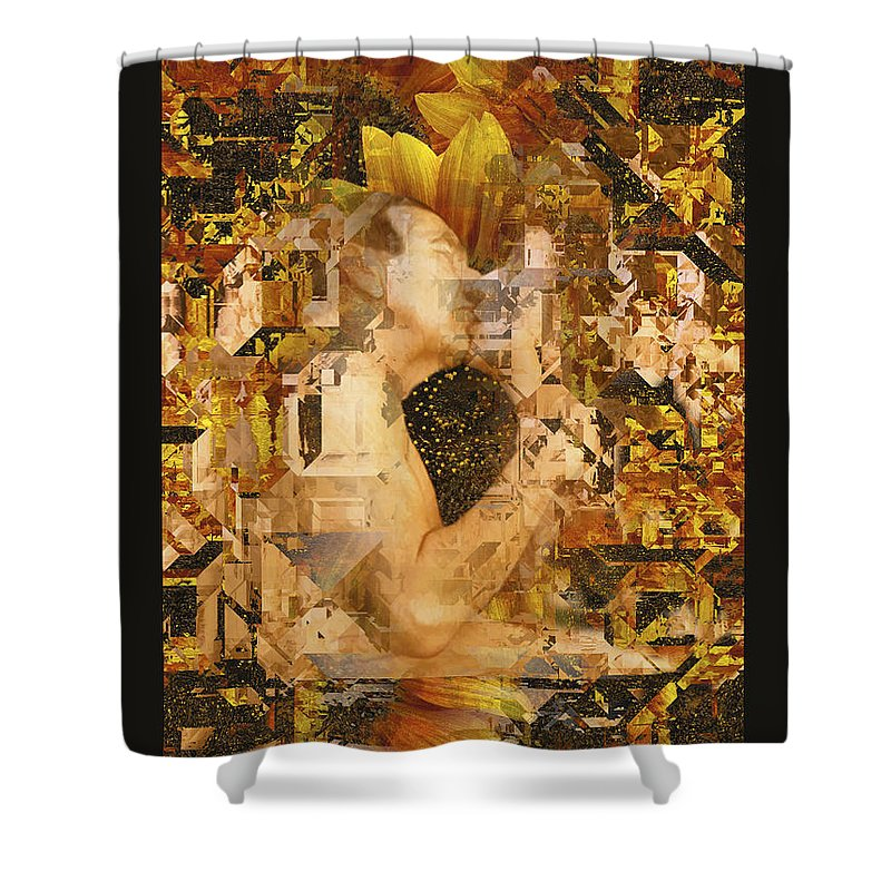 Nude Shower Curtain featuring the photograph Eternally Yours by Kurt Van Wagner