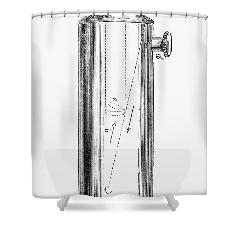 1847 Shower Curtain featuring the photograph Ether Inhaler, 1847 by Granger