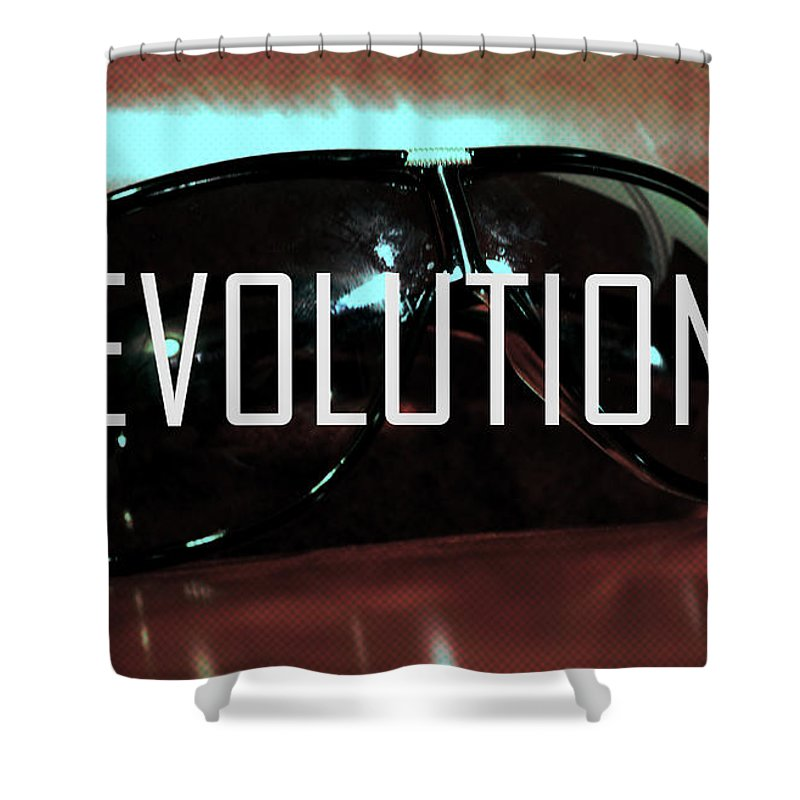 Evolution Shower Curtain featuring the photograph Evolution by La Dolce Vita
