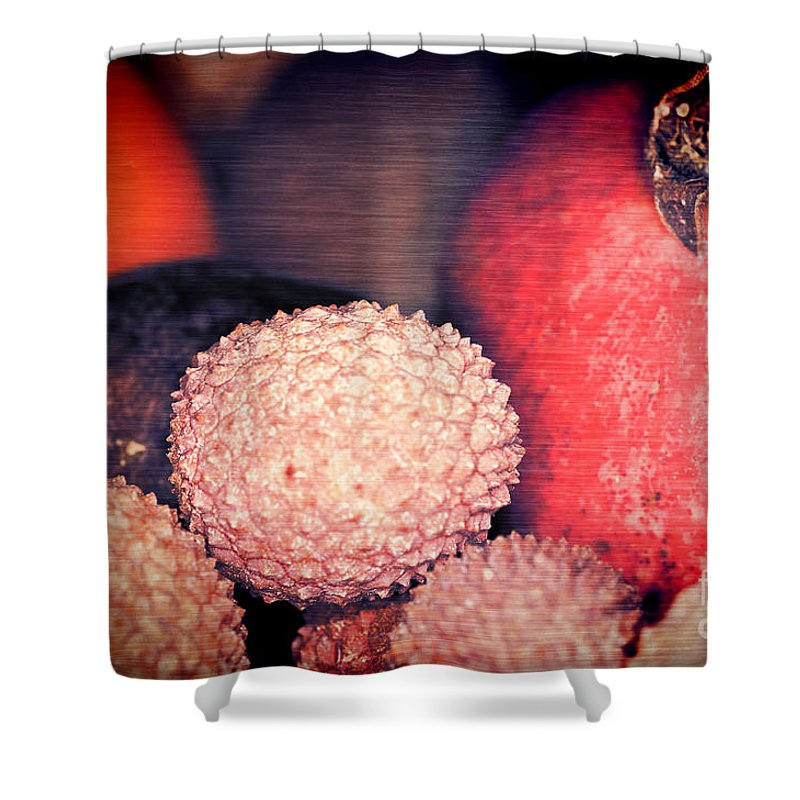 Exotique Shower Curtain featuring the photograph Exotique 2 by Steve Purnell