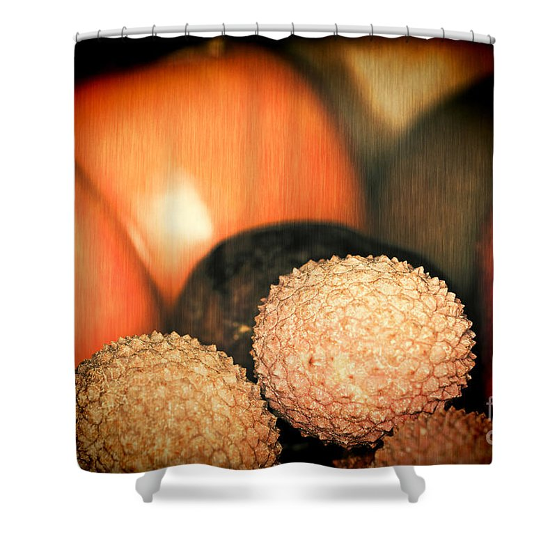 Exotique Shower Curtain featuring the photograph Exotique 3 by Steve Purnell