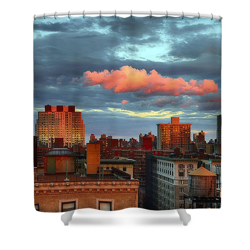 Tranquility Shower Curtain featuring the photograph Facing East by Joe Josephs Photography