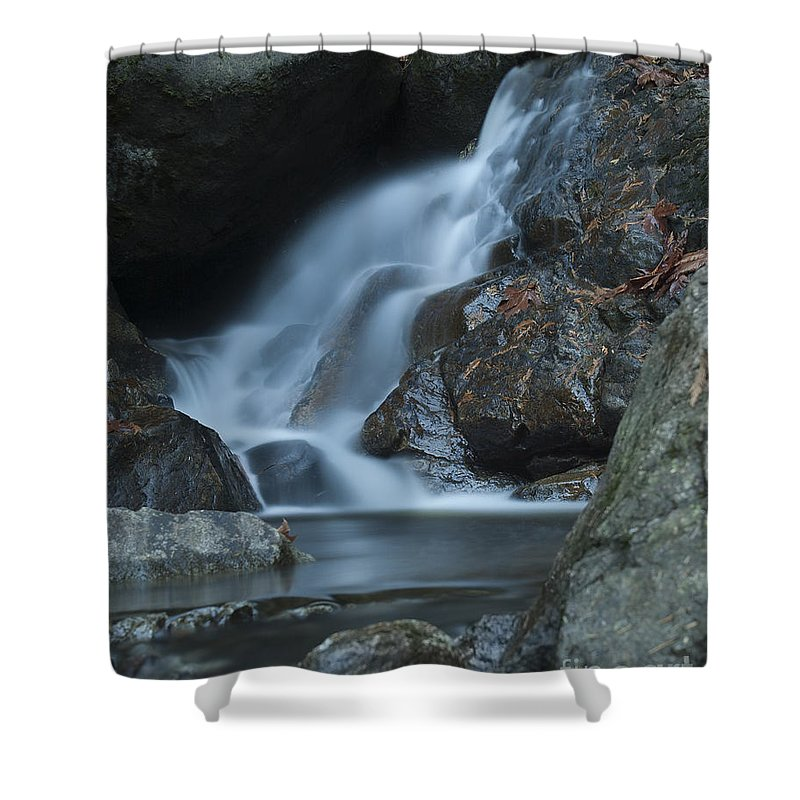 Waterfalls Shower Curtain featuring the photograph Falling Waters by Rod Wiens