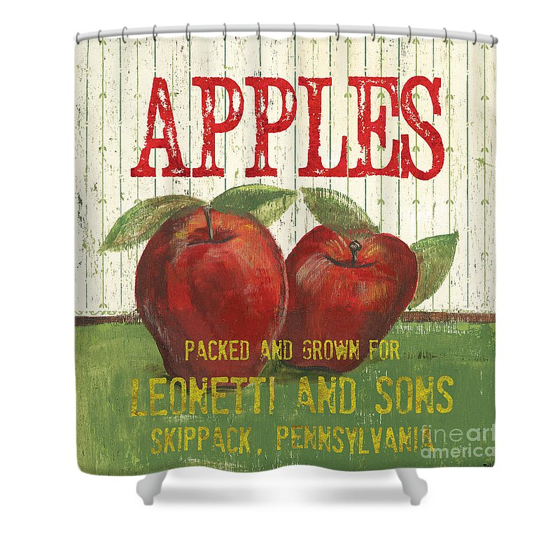 Apple Shower Curtains