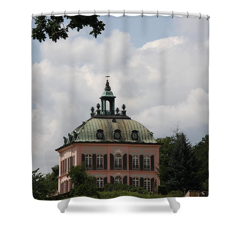 Palace Shower Curtain featuring the photograph Fasanen Schloesschen Germany  Pheasant Palace by Christiane Schulze Art And Photography