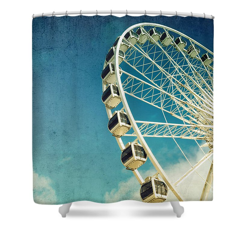 Background Shower Curtains