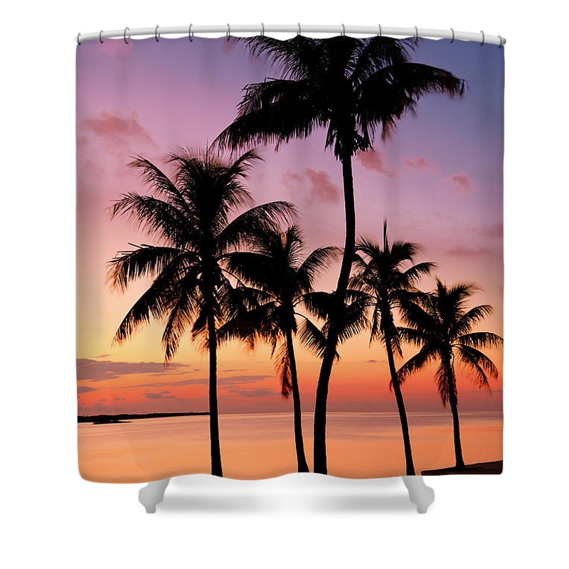Sunset Shower Curtain featuring the photograph Florida Breeze by Chad Dutson