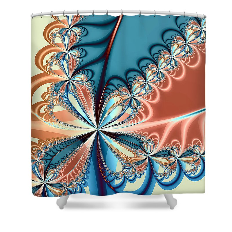 Biology Shower Curtain featuring the photograph Flourish by Kevin Trow
