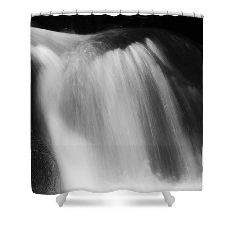 Water Shower Curtain featuring the photograph Flowing Helmet by Curtis Knight
