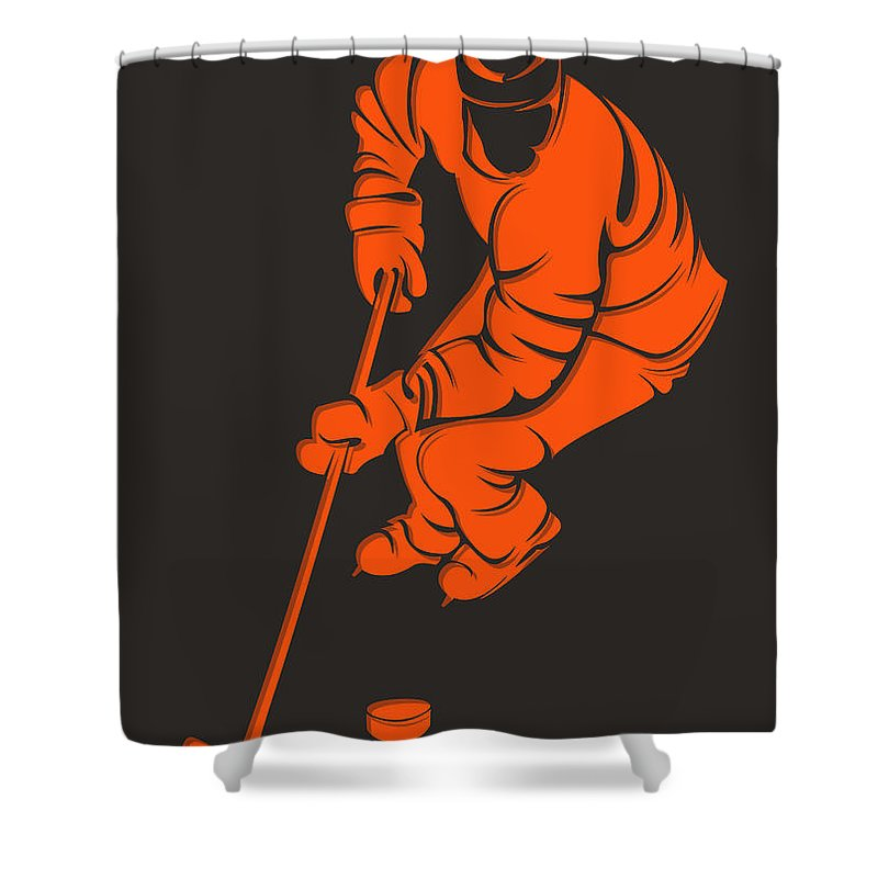 Flyers Shower Curtain featuring the photograph Flyers Shadow Player3 by Joe Hamilton