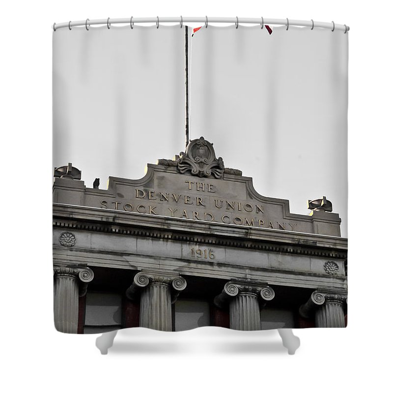 Denver Shower Curtain featuring the photograph Flying High by Colleen Coccia