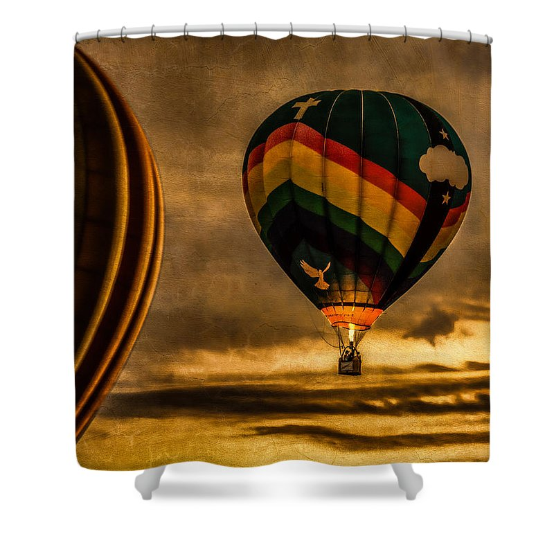 Amazing Grace Shower Curtain featuring the photograph Following Amazing Grace by Bob Orsillo