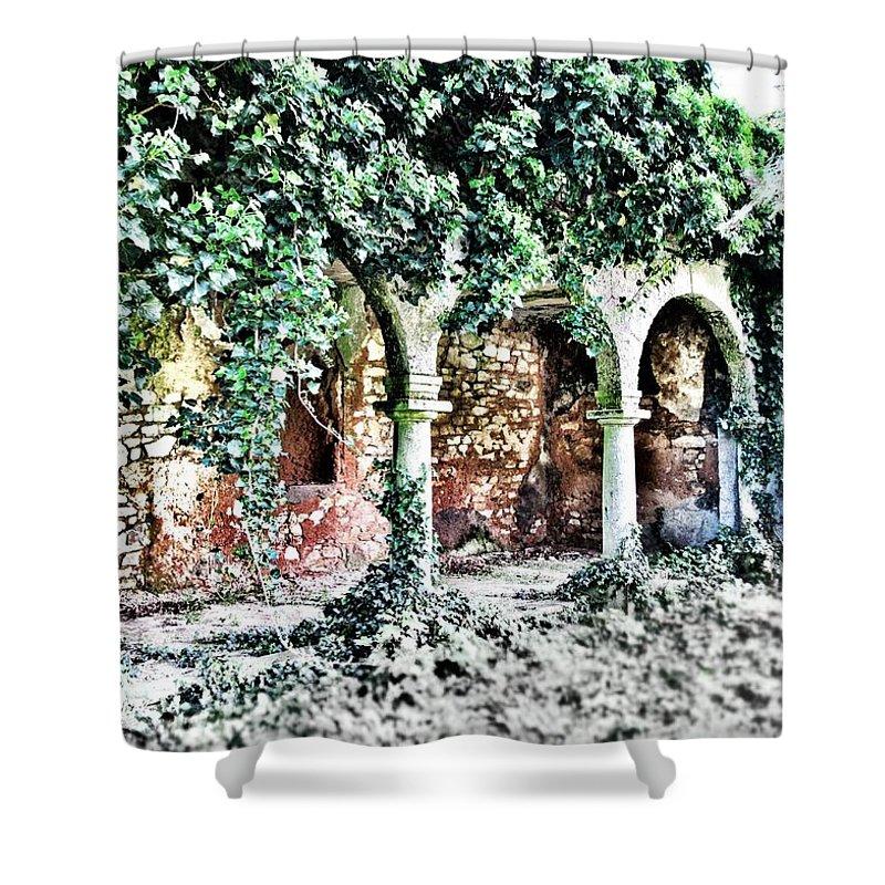 Forbidden Shower Curtain featuring the photograph Forbidden Dream by Marianna Mills
