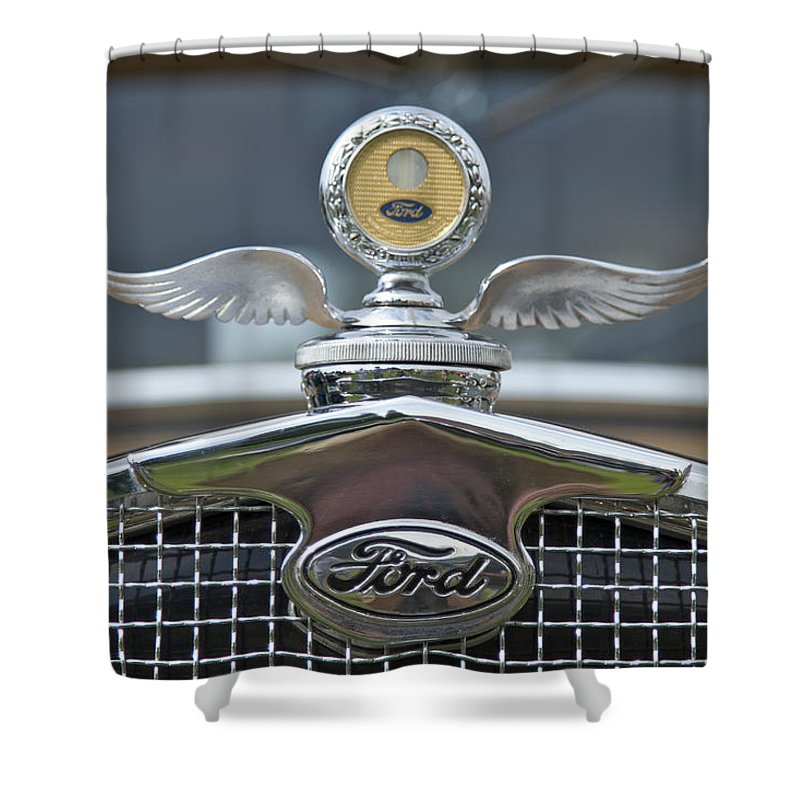 Ford Shower Curtain featuring the photograph Ford by Jack R Perry