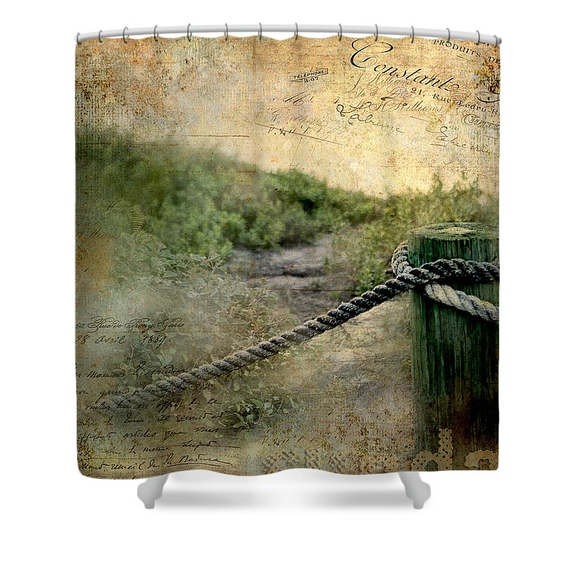 Tags Shower Curtain featuring the photograph Fort Lauderdale Sunday by Evie Carrier