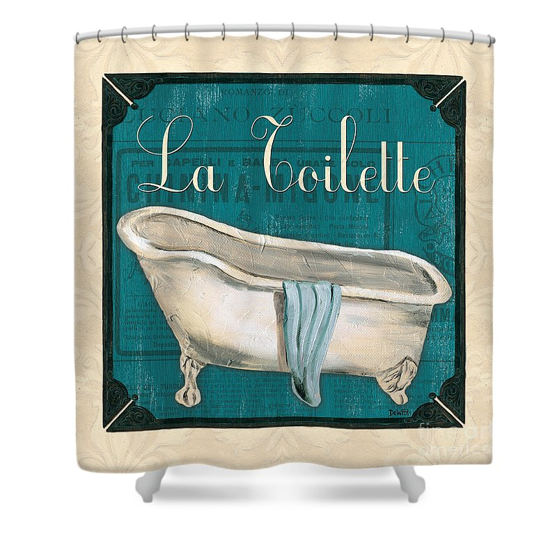 Spa Paintings Shower Curtains