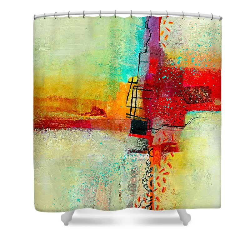 Abstract Shower Curtains Fine Art America