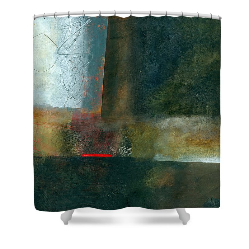 Fresh Paint Shower Curtain featuring the painting Fresh Paint #8 by Jane Davies