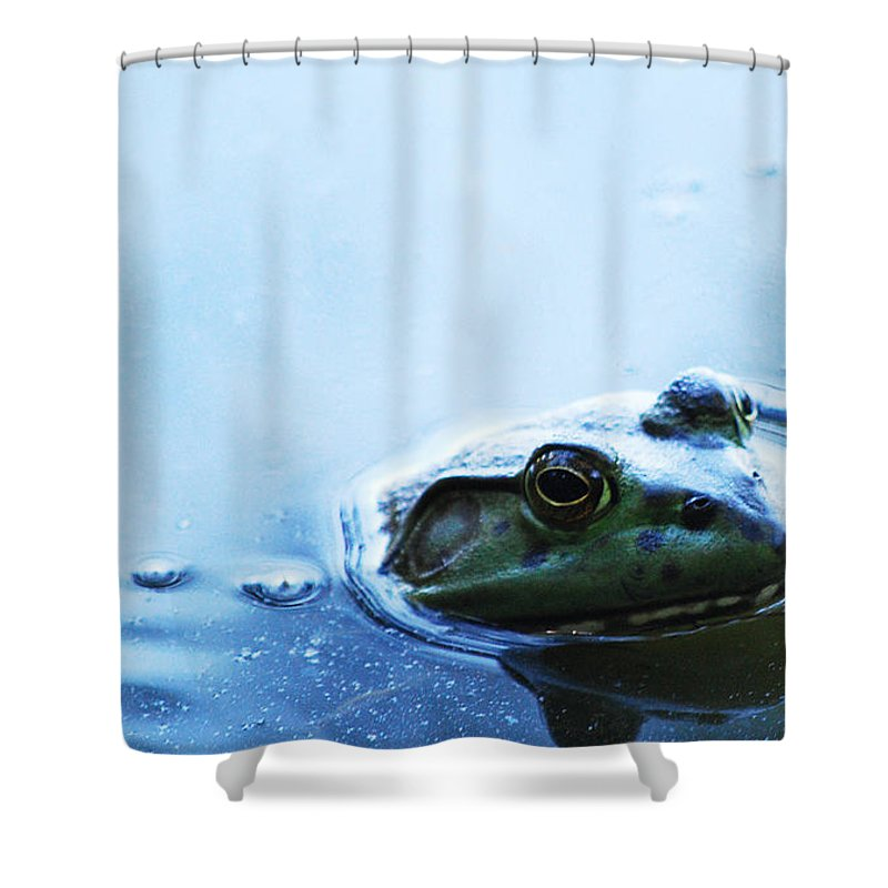 Becky Furgason Shower Curtain featuring the photograph #youcanlaugh by Becky Furgason