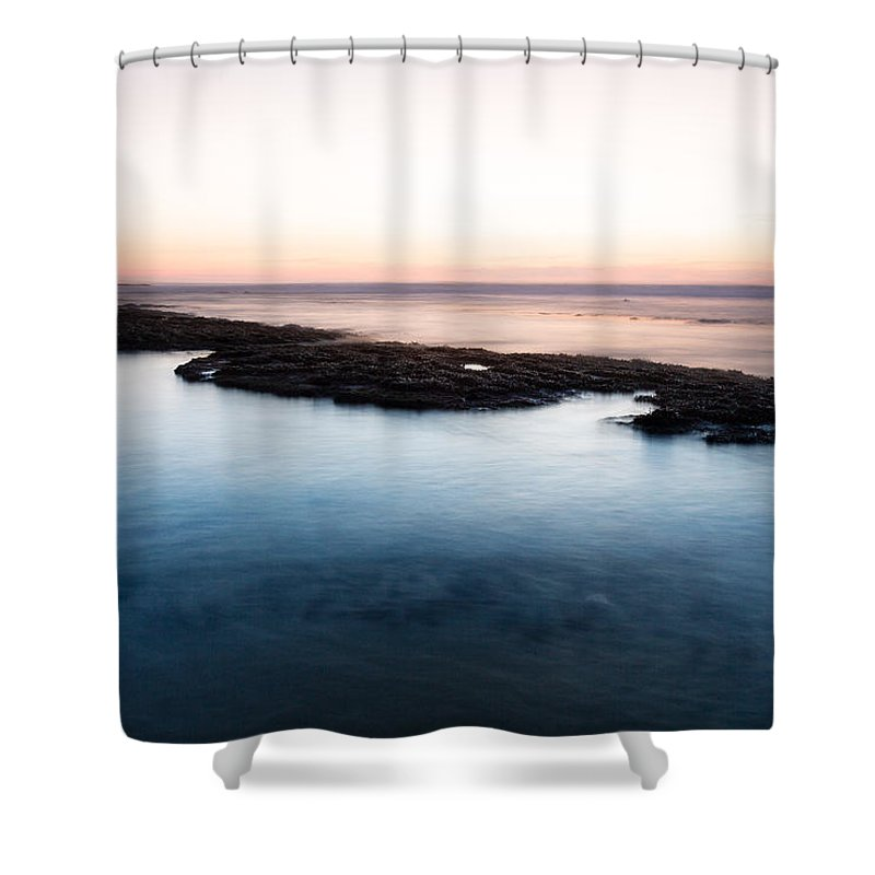 Sea Shower Curtain featuring the photograph Frontier Hot Cold by Edgar Laureano
