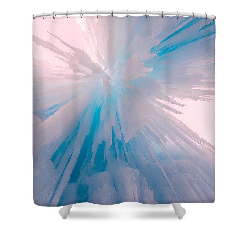 Frozen Shower Curtain featuring the photograph Frozen by Chad Dutson