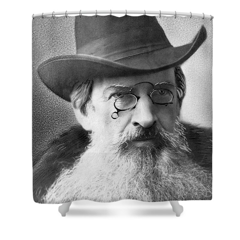 1 Person Shower Curtain featuring the photograph Gardiner Green Hubbard by Otto Renar