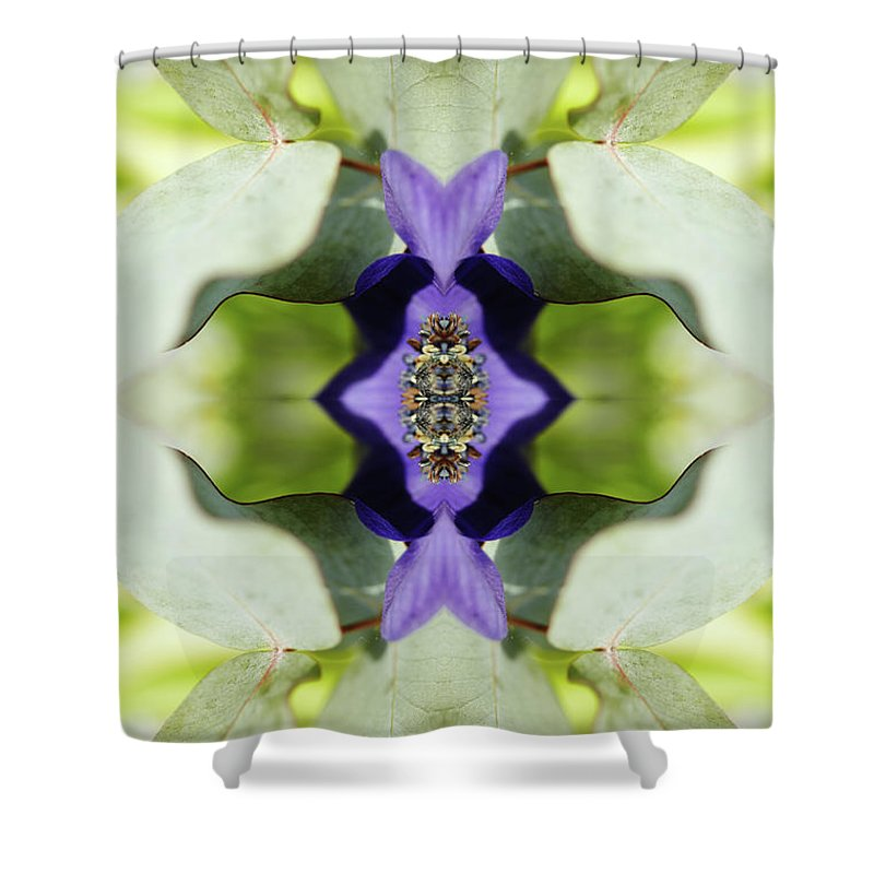 Tranquility Shower Curtain featuring the photograph Gerbera Flower by Silvia Otte
