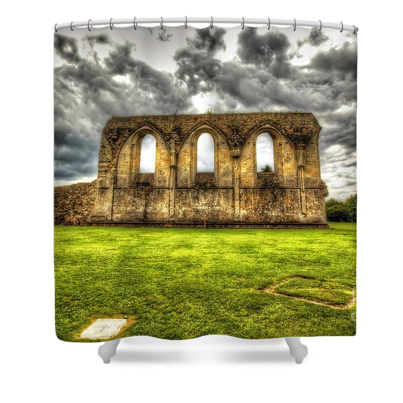Glastonbury Shower Curtain featuring the photograph Glastonbury by Traci Law