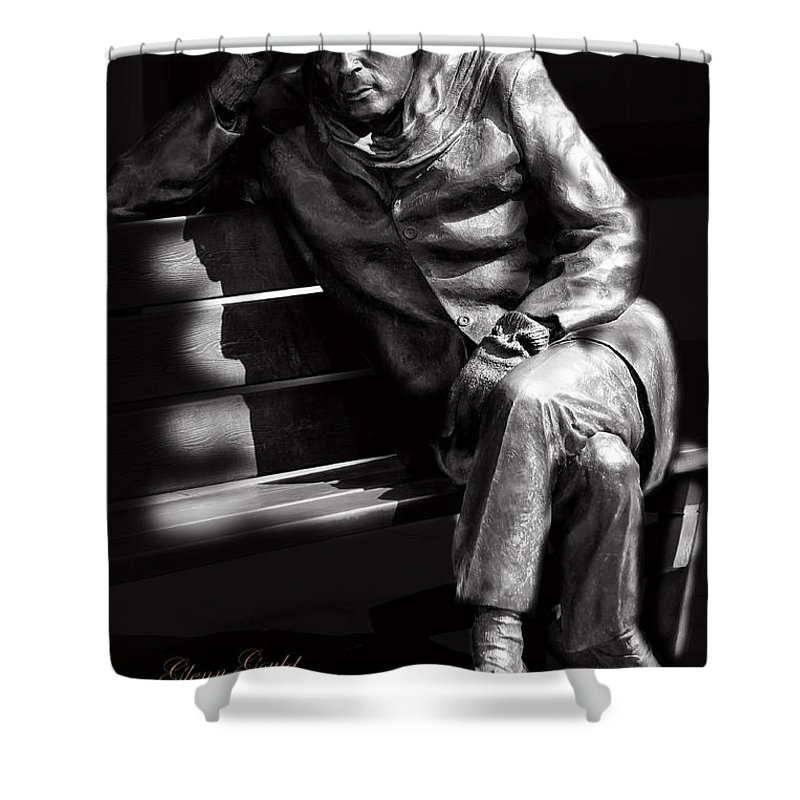 Pianist Shower Curtain featuring the photograph Glenn Gould by Andrew Fare