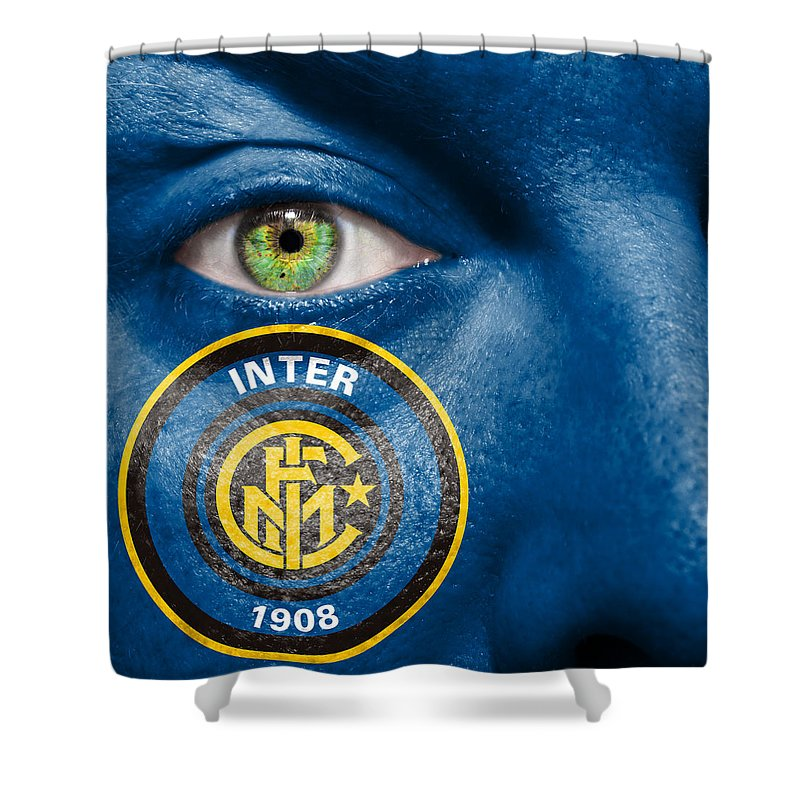 1908 Shower Curtain featuring the photograph Go Inter Milan by Semmick Photo