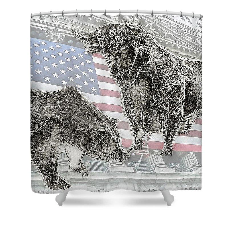 Bear Shower Curtain featuring the photograph Good Times . . . Bad Times by Joachim G Pinkawa