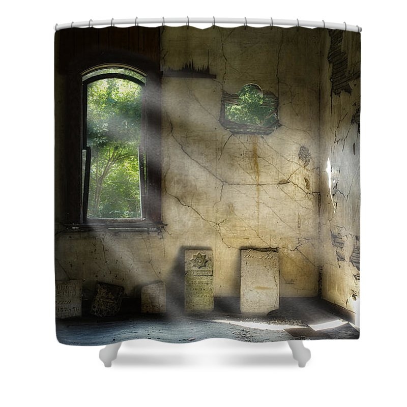 Cemetery Shower Curtains
