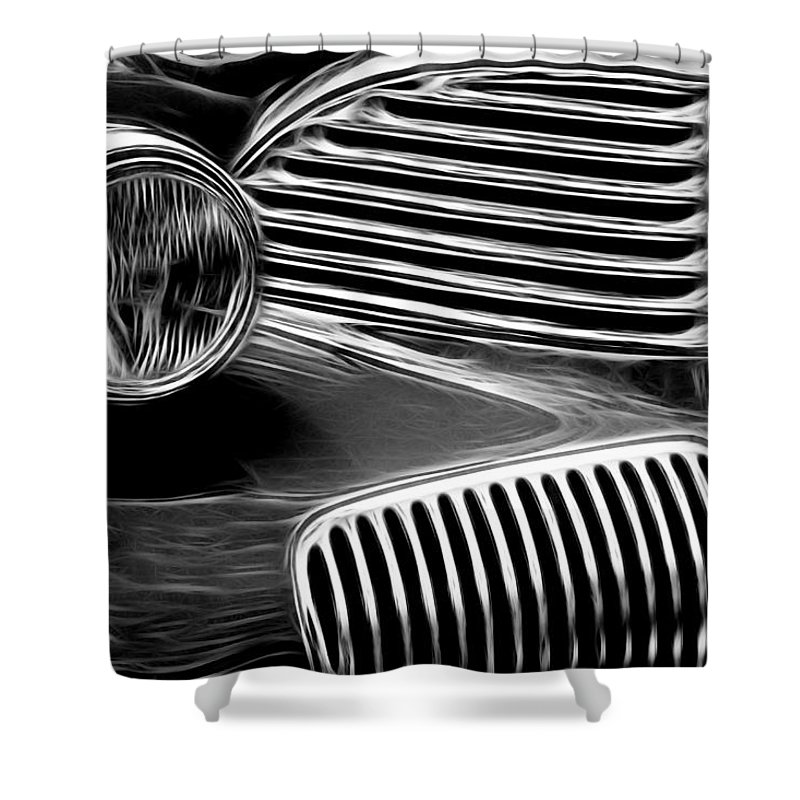Graham 1 Shower Curtain featuring the photograph Graham 1 by Wes and Dotty Weber