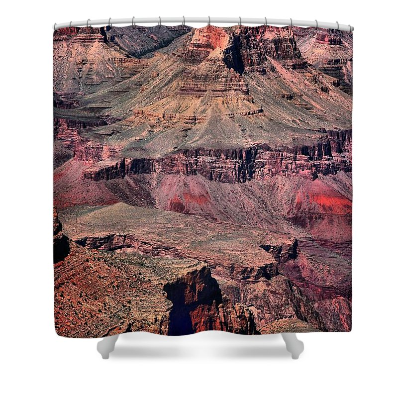 Grand Canyon Shower Curtain featuring the photograph Grand Canyon 3 by Robert McCubbin
