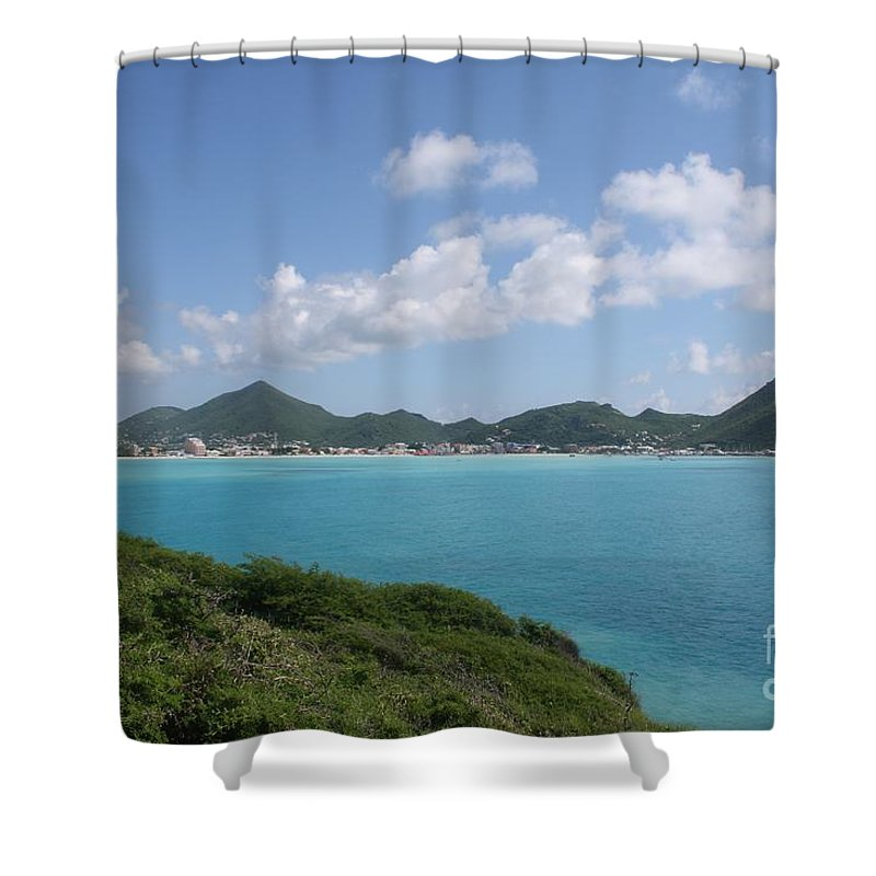 Philipsburg Shower Curtain featuring the photograph Great Bay by John W Smith III