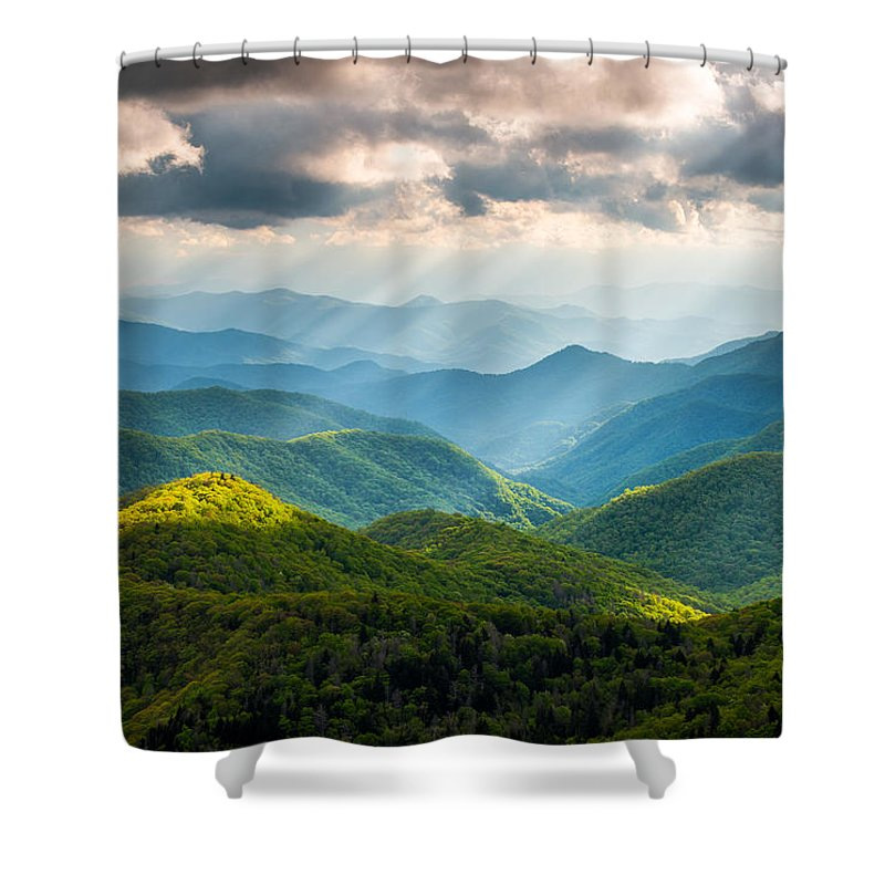 Great Smoky Mountains National Park Shower Curtains
