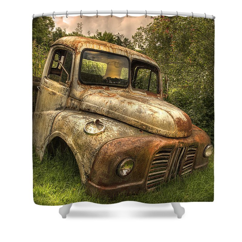 Great Train Robbery Van Cabin Shower Curtain for Sale by Mal Bray