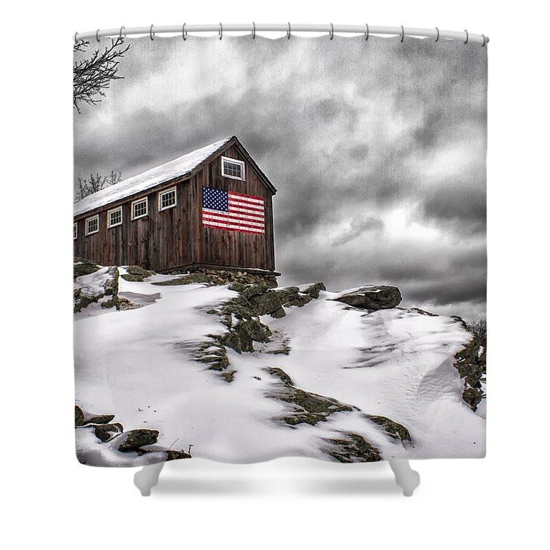 Roxbury Photographs Shower Curtains