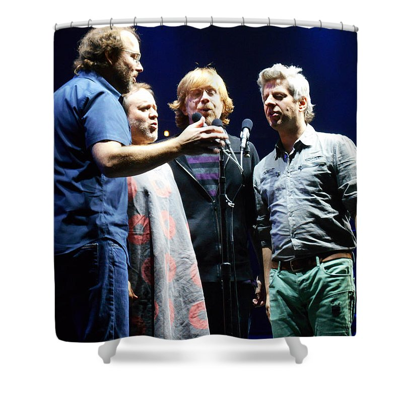 Phish Shower Curtain featuring the photograph Grind by Kevin J Cooper Artwork